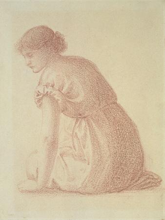 A Seated Figure of a Woman, 19th Century