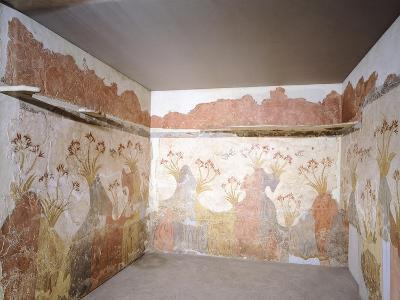 The Spring, Akrotiri Fresco, Thera