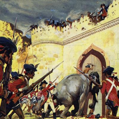 The Siege of Arcot Lasted for Fifty Days
