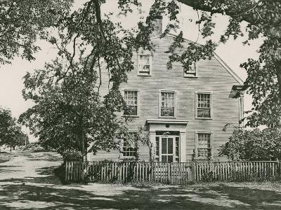 Home of Sir William Pepperell, Maine