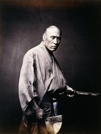 A Japanese Samurai, C.1864-1866