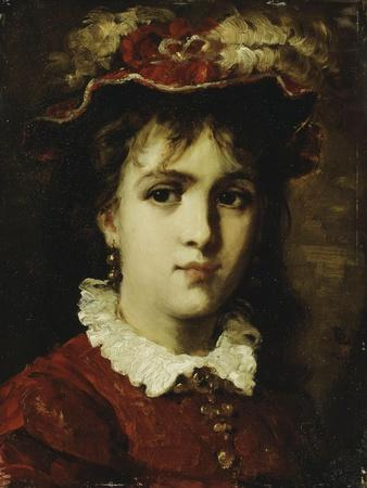 Portrait of a Young Girl, 1876