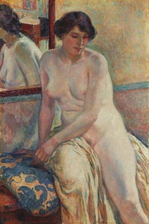 The Model's Rest, 1912