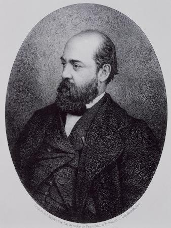 Portrait of Henri Murger
