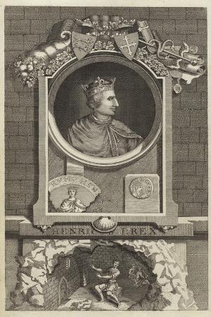 Portrait of Henry I of England