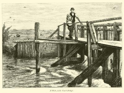 A Weir, with Fixed Bridge