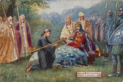 William II Conferring the Primacy on Anselm, 1093
