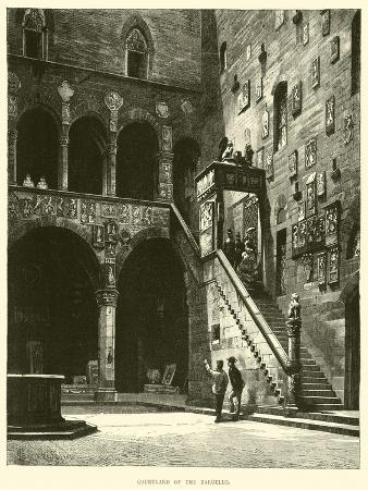 Courtyard of the Bargello
