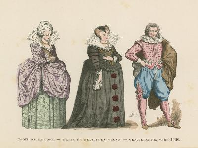 French Costume, Early 17th Century