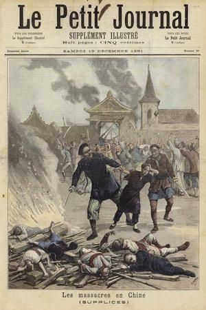 Cover of Le Petit Journal, 19 December 1891