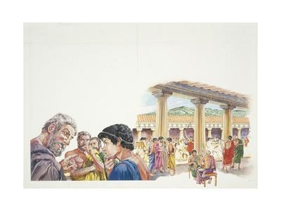 Ancient Athens - Reconstruction of the Gymnasium