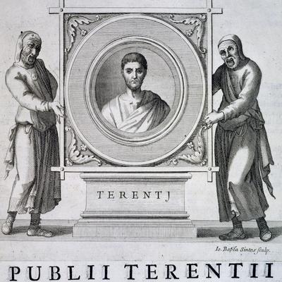 Portrait of Publius Terentius Afer