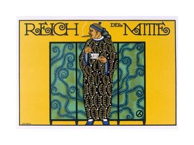 Reich Der Mitte Poster, 1915/16