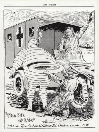Advertisement for Michelin Tyres