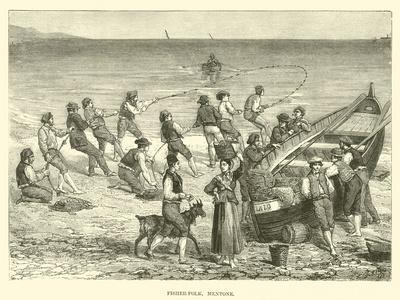 Fisher-Folk, Mentone