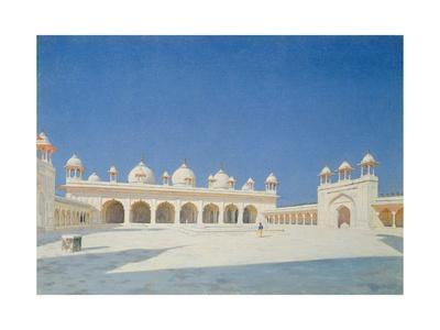 Moti Masjid, Agra, 1874-76