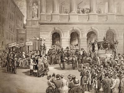 Funeral of Bedrich Smetana