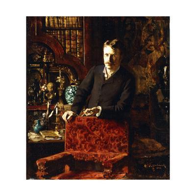A Gentleman in an Interior, 1881