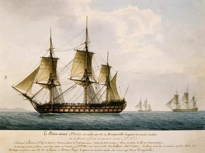 Louis Antoine, Count De Bougainville's