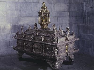 Processional Chest of Corpus Domini, St Lawrence