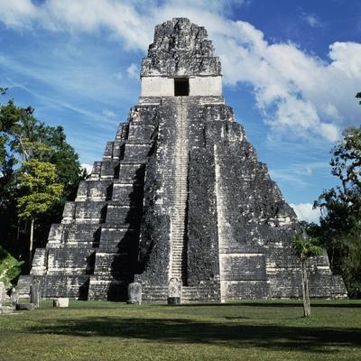 Temple I, Tikal National Park
