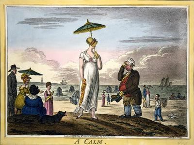 A Calm, Pub. H Humphrey, London, 1810