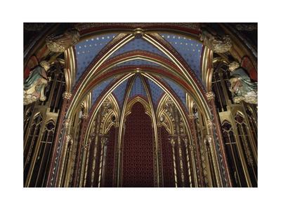 Baldacchino, Sainte-Chapelle