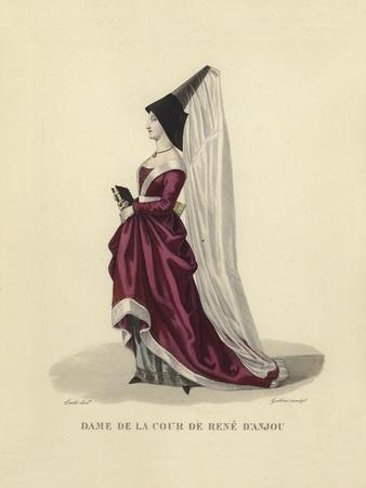Lady of the Court of Rene of Anjou