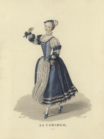 La Camargo, 1760