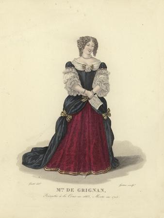 Madame De Grignan, French Aristocrat
