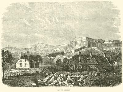View of Belfort, October 1870
