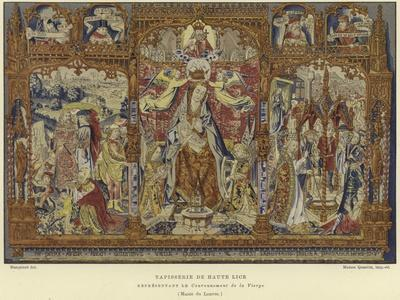 Tapestry Depicting the Coronation of the Virgin