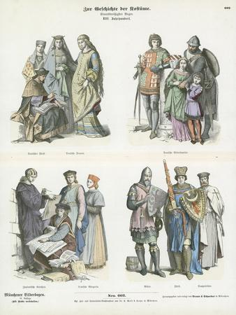 Costumes of the 13th Century