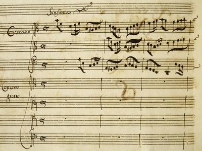 Sheet Music of Lo Schiavo Liberato