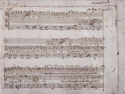 Autograph Sheet Music