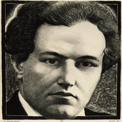 Portrait of Arthur Honegger
