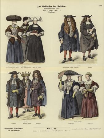 Costumes of Strasbourg, 17th Century