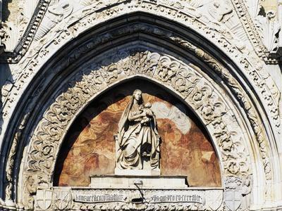 Virgin and Child Statue, by Pietro De Bonitate