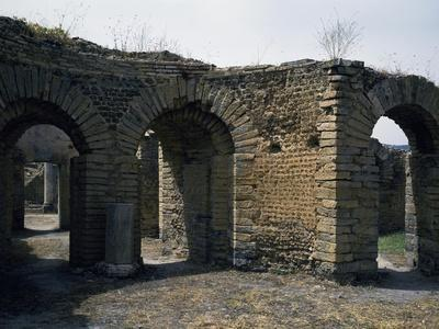 Great Baths at Ruins of Ancient Roman Cuicul