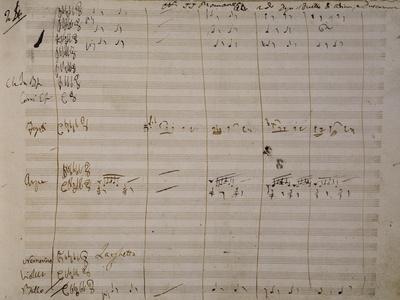 Autograph Sheet Music of Una Furtiva Lagrima