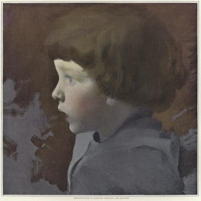 Sketch for a Portrait of a Child