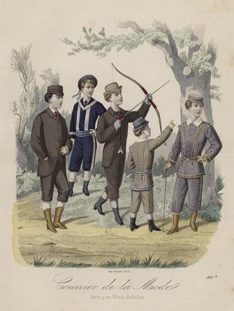 French Boys' Fashions