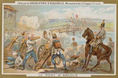 Battle of the Bridge of Arcole, Italy, 1796