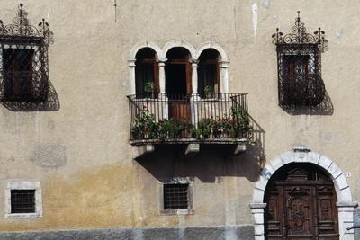 Balcony on Facade of Casa Dei Gentili