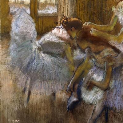 Dancers at Rest, C.1885