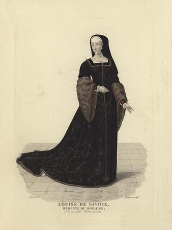 Louise of Savoy, Regent of France