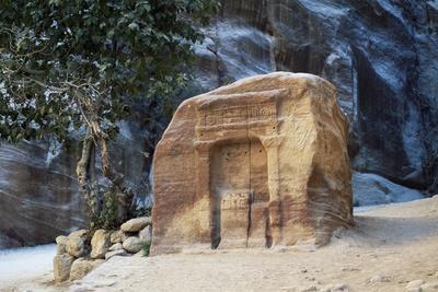Votive Niche in the Siq Gorge, Petra