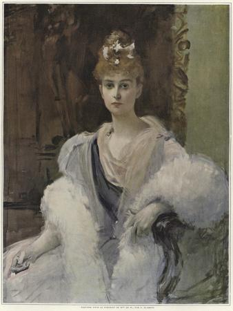Sketch for a Portrait of Mme De M