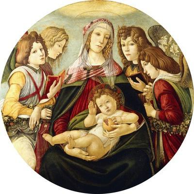 The Madonna and Child with Four Angels