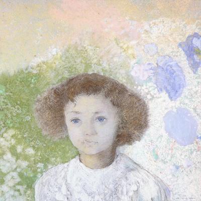Portrait of Genevieve De Gonet as a Child, 1907